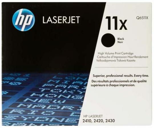 Картридж HP Q6511X для LaserJet 2410/20/30 цена