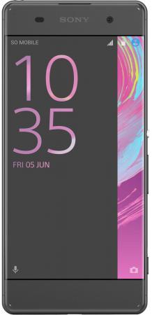 Смартфон SONY Xperia XA Dual черный 5 16 Гб NFC LTE Wi-Fi GPS 3G F3112 смартфон micromax q334 canvas magnus черный 5 4 гб wi fi gps 3g