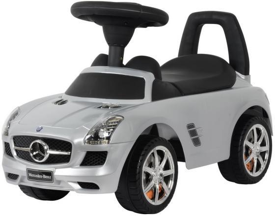 Каталка-машинка Rich Toys Mercedes-Benz пластик от 1 года музыкальная серебро металлик 332Р велосипед двухколёсный rich toys ba camilla 14 1s розовый kg1417