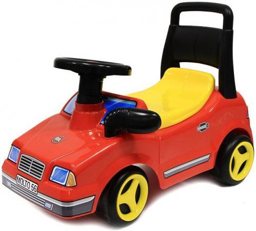 Каталка-машинка Molto спортивный Вихрь пластик от 10 месяцев музыкальная красный каталка машинка molto автомобиль каталка пикап красный от 1 года пластик