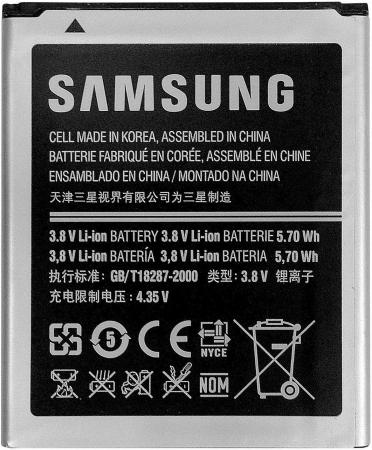 Аккумулятор Samsung EB-F1M7FLUCSTD 1500mAh samsung eb b800bebe стандартный
