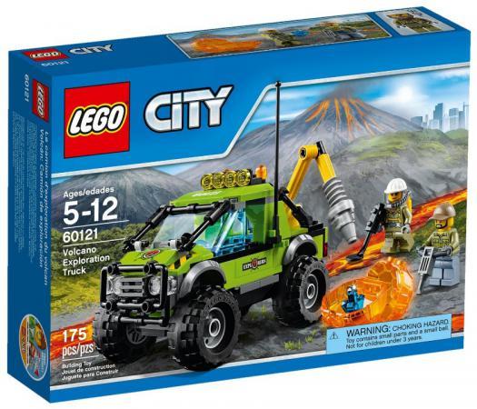 Конструктор LEGO City - Грузовик исследователей вулканов 175 элементов 60121