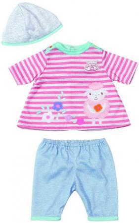 Одежда для кукол Zapf Creation My first Baby Annabel 36 см розово-серый 794371 брюки gas gas ga340ewjnl90