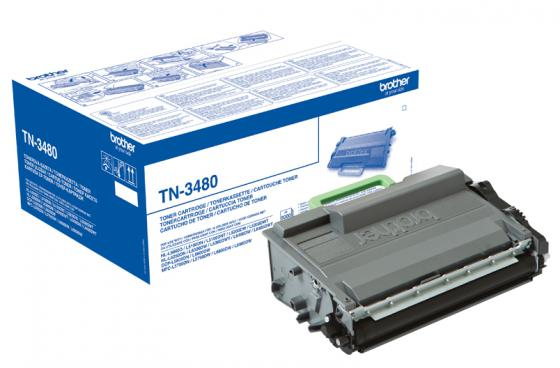 Картридж Brother TN3480  для HL-L5000D/5100DN/5200DW/6300DW/6400DW/6400DWT/DCP-L5500DN/6600DW/MFC-L5700DN/5750DW/6800DW/6900DW 8000 стр refillable color ink jet cartridge for brother printers dcp j125 mfc j265w 100ml