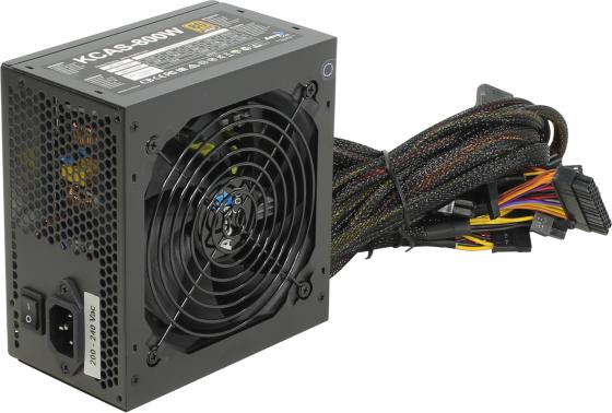 Фото - Блок питания ATX 800 Вт Aerocool KCAS-800W блок питания accord atx 1000w gold acc 1000w 80g 80 gold 24 8 4 4pin apfc 140mm fan 7xsata rtl