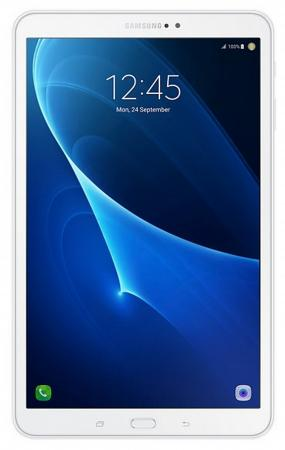 Планшет Samsung Galaxy Tab A 10.1 2016 SM-T585 10.1 16Gb White Wi-Fi 3G Bluetooth Android SM-T585NZWASER планшет samsung galaxy tab e 9 6 8gb 3g black sm t561