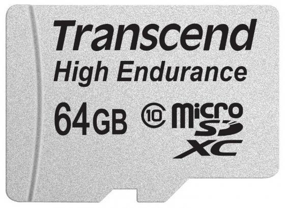 Карта памяти SDXC 64GB Class 10 Transcend TS64GUSDXC10V transcend jetdrive lite 330 64gb карта памяти для macbook pro retina 13