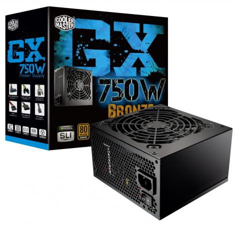 Блок питания ATX 750 Вт Cooler Master Power Supply 750W цена