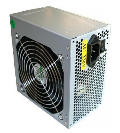 Фото - Блок питания ATX 450 Вт Foxline Power Supply FZ-450R блок питания accord atx 1000w gold acc 1000w 80g 80 gold 24 8 4 4pin apfc 140mm fan 7xsata rtl
