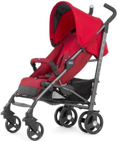 Коляска-трость с бампером Chicco Lite Way Top Stroller (new red) chicco lite way top отзывы