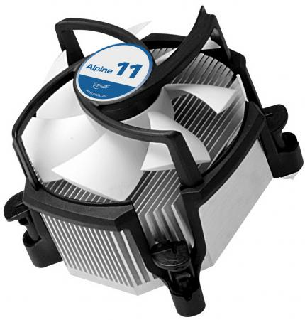 Кулер для процессора Arctic Cooling Alpine 11 Rev.2 Socket 1156 775 UCACO-AP111-GBB01 кулер для процессора arctic cooling alpine 64 gt rev 2 socket am2 am2 am3 754 939 ucaco p1600 gba01
