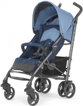 Коляска-трость с бампером Chicco Lite Way Top Stroller (s.d. denim) коляска трость с бампером chicco lite way top stroller s d denim