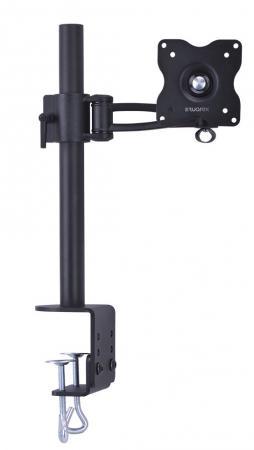 Настольное наклонно-поворотное крепление Tuarex ALTA-13 для LCD монитора 15-32 4 ст свободы черный VESA 100/100