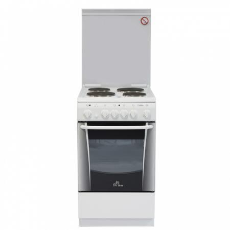 Электрическая плита De Luxe 506004.00э белый цена