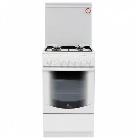 Газовая плита De Luxe 5040.41г чр белый газовая плита de luxe 506040 01г чр газовая духовка белый