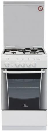 Комбинированная плита De Luxe 506031.01гэ белый комбинированная плита de luxe 506031 00гэ белый