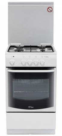 Газовая плита De Luxe 5040.37г белый цена