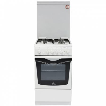Газовая плита De Luxe 506040.03г чр белый