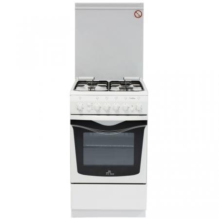 Газовая плита De Luxe 506040.01г чр белый газовая плита de luxe 606040 24 000г кр чр серебристый