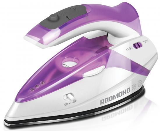 Утюг Redmond RI-S231 1100Вт белый/фиолетовый утюг redmond ri c252 мятный