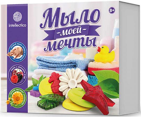 Набор для изготовления мыла INTELLECTICO Мыло моей мечты 468 от 8 лет 980103 набор для изготовления мыла фантазёр морское мыло рыбка от 4 лет 981403