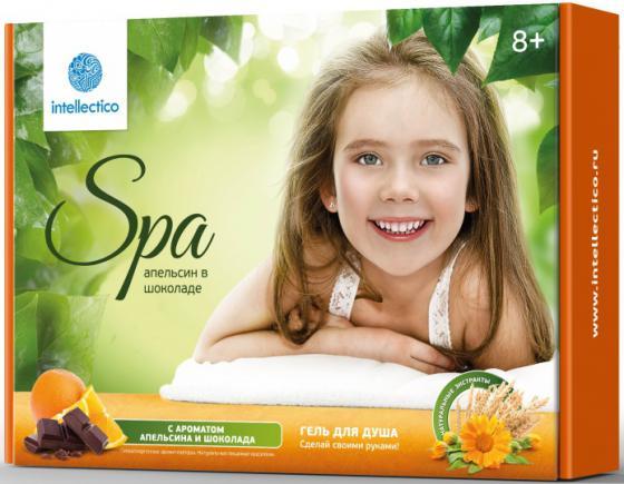 Набор для творчества Intellectico Гель для душа Апельсин в шоколаде 762 набор для создания духов intellectico апельсин mini