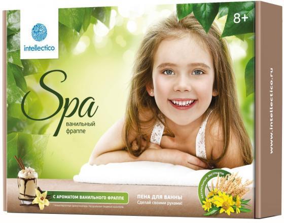 Набор для творчества Intellectico Пена для ванны Ванильный фраппе 764