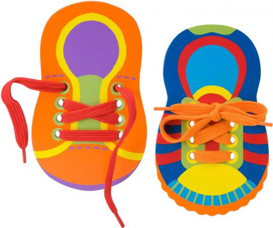 Игрушка-Alex шнуровка Завяжи шнурки, от 3 лет 570WN игровой набор alex alex шнуровка веселая ферма