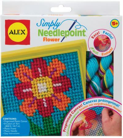 Набор для вышивания Alex Цветок 395FN наборы для творчества alex набор для вышивания любовь