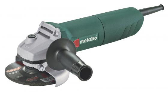 Углошлифовальная машина Metabo W 1100-125 125 мм 1100 Вт шлифовальная машина metabo wev 10 125 quick 600388000