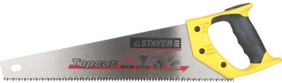 Ножовка Stayer Master по дереву закаленный зуб двухкомпонентная рукоятка 1506-50_z01 ножовка по металлу stayer master 1577 z01
