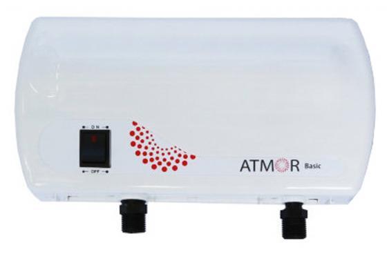 Водонагреватель проточный Atmor BASIC 5кВт Душ электрический проточный водонагреватель atmor enjoy 100 5квт кухня