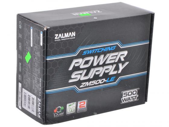 все цены на Блок питания ATX 500 Вт Zalman ZM500-LEII