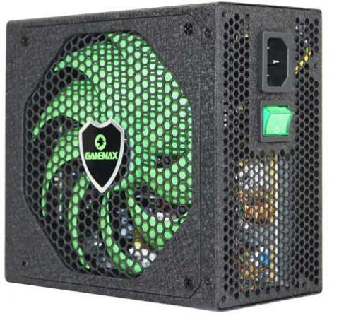 Блок питания ATX 600 Вт GameMax GM-600(G) блок питания atx 800 вт gamemax gm 800 ex221641rus