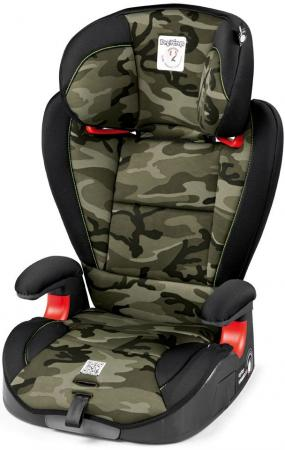 Автокресло Peg-Perego Viaggio 2/3 Surefix (camo green) автокресло peg perego viaggio 2 3 shuttle crystal black