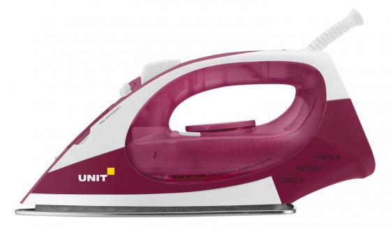 Утюг UNIT USI-282 2200Вт бело-вишневый