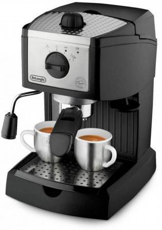 Кофемашина DeLonghi EC156 1100 Вт черный кофемашина delonghi ecam510 55 m 1450 вт серебристый