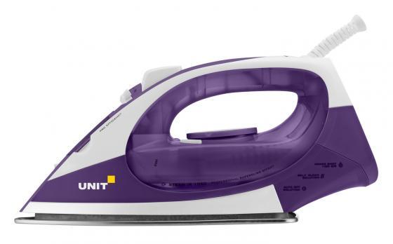Утюг UNIT USI-282 2200Вт бело-фиолетовый