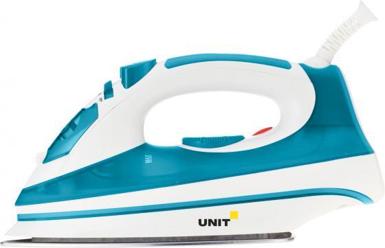 лучшая цена Утюг UNIT USI-193 2200Вт бело-голубой