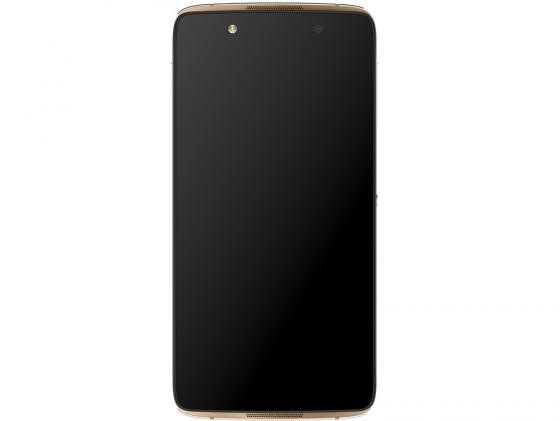 Смартфон Alcatel OneTouch OT6055K IDOL 4 золотистый 5.2 16 Гб NFC LTE Wi-Fi GPS 3G мобильный телефон alcatel onetouch 2008g black white