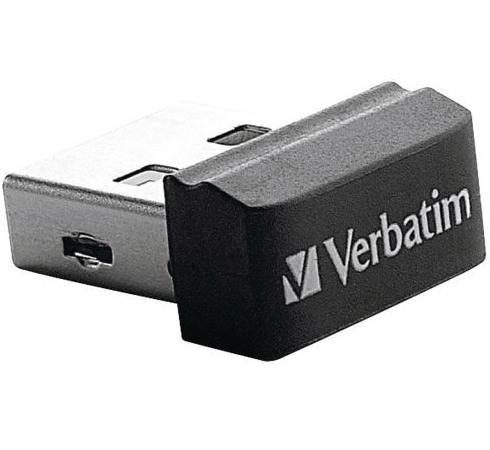 Флешка USB 16Gb Verbatim Store 'N' Stay Nano 097464 USB2.0 флешка usb 16gb verbatim store