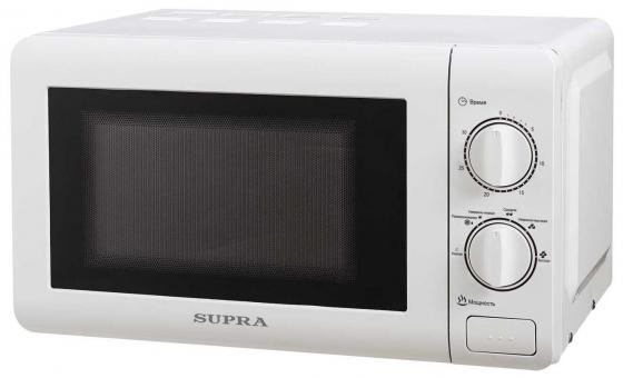 Микроволновая печь Supra MWS-2121MW 700 Вт белый микроволновая печь supra mws 2121mw белый