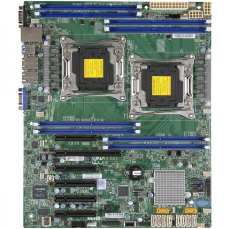 Материнская плата Supermicro MBD-X10DRL-I-B 2 х Socket 2011-3 C612 8xDDR4 1xPCI-E 16x 2xPCI-E 4x 3xPCI-E 8x 10xSATAIII ATX OEM golf 3 td 2011