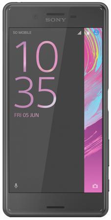 Смартфон SONY Xperia X Performance Dual графитовый черный 5 64 Гб NFC LTE Wi-Fi GPS 3G F8132 смартфон sony xperia x performance dual