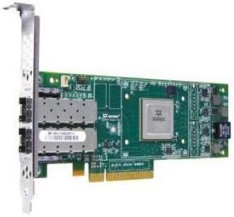 Адаптер Dell QLogic 2662 Dual Port 16GB Fibre Channel HBA Full Height - Kit 406-10741 адаптер dell qlogic 2562 dual port 8gb fibre channel hba pci e x8 full profile kit 406 bbek