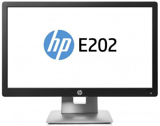 Монитор 20 HP EliteDisplay E202 серебристый черный IPS 1600x900 250 cd/m^2 7 ms HDMI DisplayPort VGA USB M1F41AA монитор 23 hp elitedisplay e230t черный серебристый ips 1920x1080 250 cd m^2 6 ms hdmi displayport vga usb w2z50aa