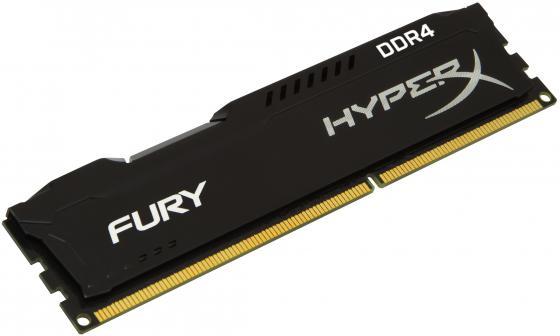 Оперативная память 16Gb PC4-19200 2400MHz DDR4 DIMM CL15 Kingston HX424C15FB/16 оперативная память kingston kvr24r17s4 16
