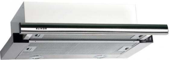 Вытяжка встраиваемая Elikor Интегра 50Н-400-В2Л серебристый встраиваемая вытяжка elikor интегра 60 крем крем