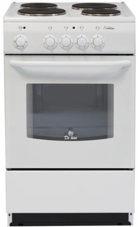 Купить со скидкой Электрическая плита De Luxe 5004.12э белый