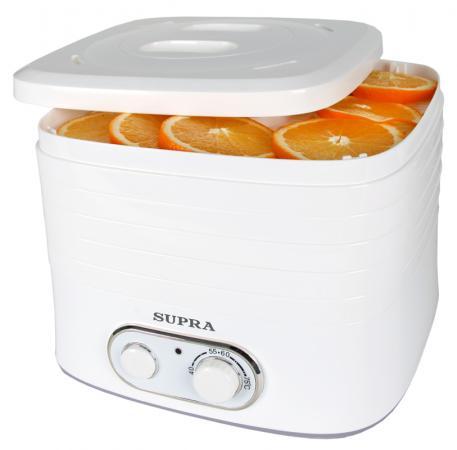 Сушилка для овощей и фруктов Supra DFS-523 белый